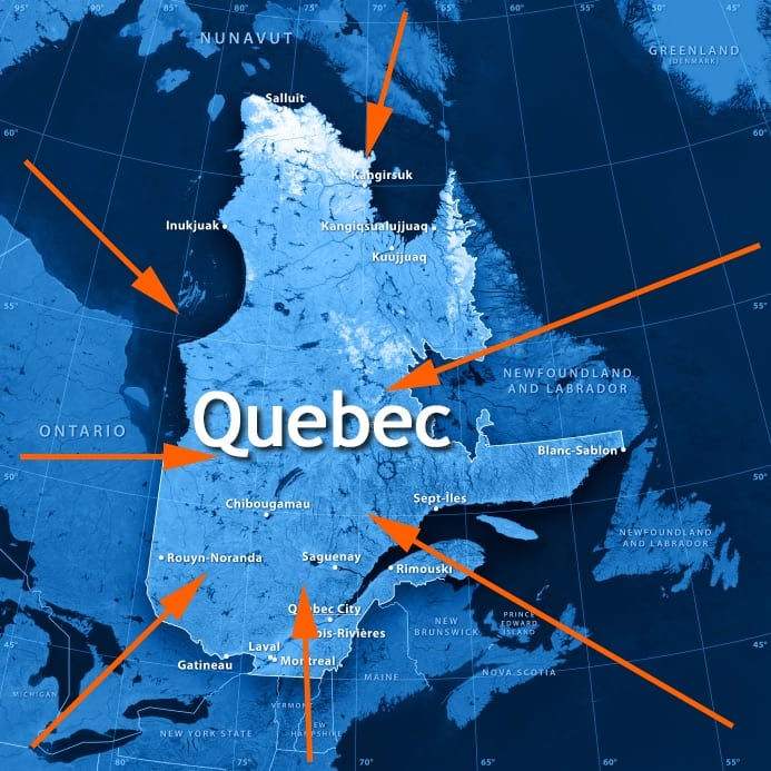 Quebec expansion